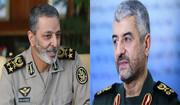 پیام سرلشکر جعفری خطاب به سرلشکر موسوی به مناسبت «روز ارتش»