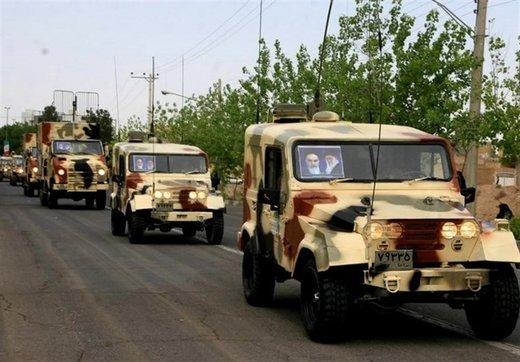 چه تجهیزاتی در رژه روز ارتش به نمایش درآمدند؟/ اسامی