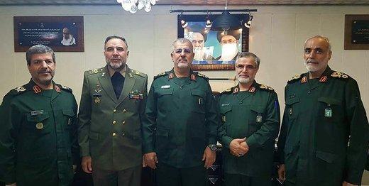 دیدار معنادار ۲ فرمانده سپاه و ارتش/ ارتش و سپاه ید واحده هستند