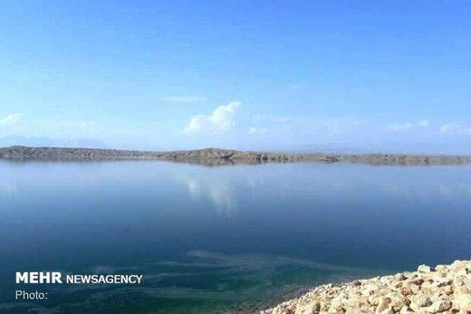 سد تاجیار با حجم ۵.۳ میلیون مترمکعبی در آذربایجان شرقی سرریز شد