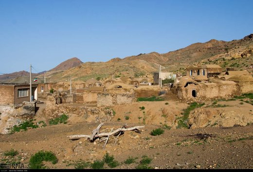 روستاهای عشایری طبس پس از سیل