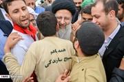 تصاویر | دیدار رئیسی با سیلزدگان خوزستان