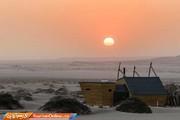 تصاویر | اقامتگاههای خاص در ساحل اسکلتی!