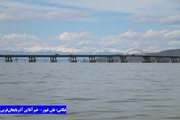 حجم آب دریاچه ارومیه از ۴ میلیارد مترمکعب عبور کرد