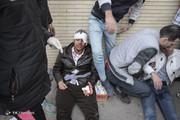 تصاویر | تلفات درگیری هواداران در بازی تراکتورسازی و پیکان