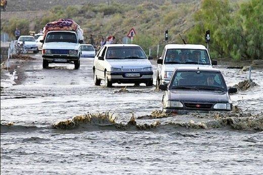 آخرین وضعیت جادههای کشور؛ مسدود شدن راهها به دلیل طغیان رودها