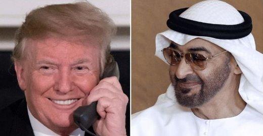 ترامپ درباره تحریمهای ایران با ولیعهد ابوظبی رایزنی کرد