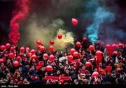 هواداران گلستانی تراکتورسازی با هزینه سردار آزمون در تبریز