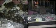 آتشسوزی مدرسه ابتدایی در محمودآباد مازندران
