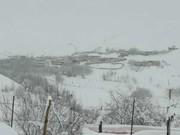 اردیبهشت برفی در کوهرنگ/ دمای هوا به زیر صفر میرسد