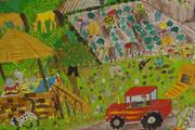 ۴ کودک ایرانی از نمایشگاه نقاشی ژاپن جایزه گرفتند
