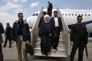 تصاویر   ورود رئیسجمهور به اهواز