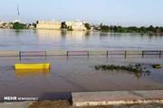 خرمشهر هم گرفتار سیلاب شد