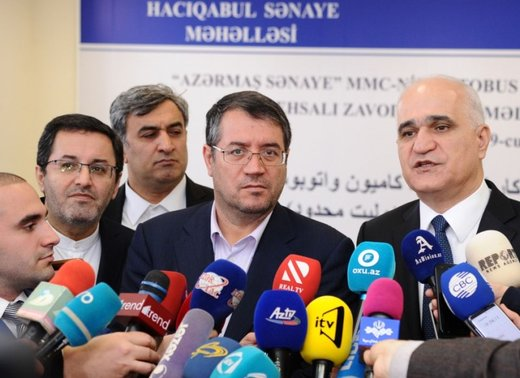 Iran, Azerbaijan to boost industrial ties