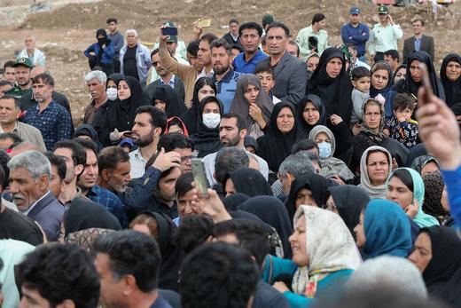 بازدید رئیسجمهور از منطقه سیلزده پلدختر