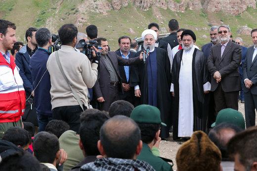 بازدید رئیسجمهور از روستای چممهر