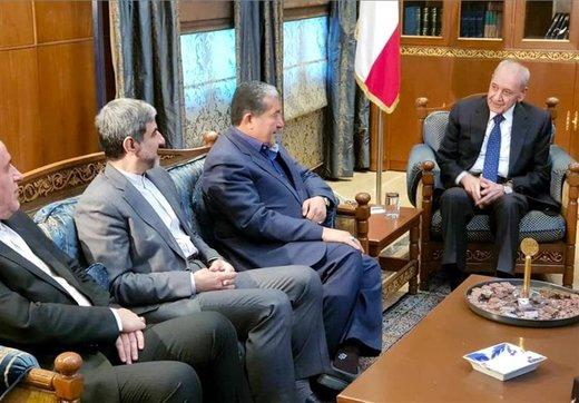 جزئیات دیدار هیئت پارلمانی ایران با رئیس مجلس لبنان