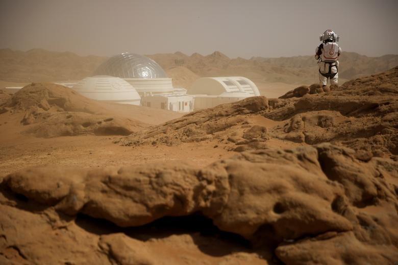 تصاویر   چینیها مریخ مصنوعی هم ساختند!
