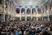 تصاویر | مراسم احیای شب نیمه شعبان در مهدیه تهران