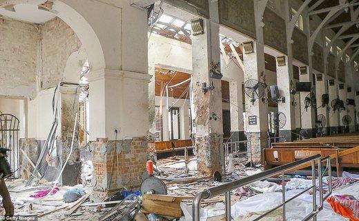 وقوع 8 انفجار در کلیساها و هتلهای سریلانکا