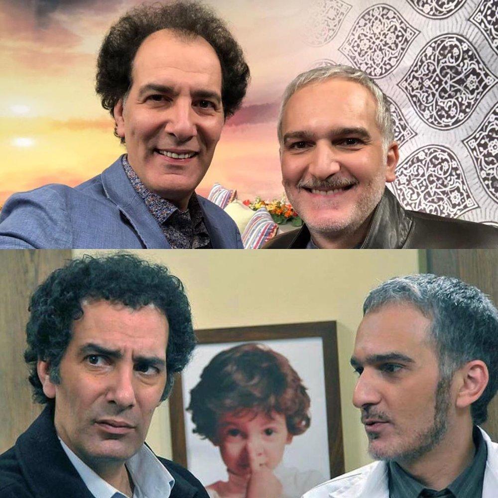 بازیگران سینما و تلویزیون ایران, چهرهها در اینستاگرام, سریال ایرانی