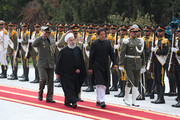 Rouhani accords formal welcome to Imran Khan in Tehran