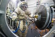 تمرین عملیات برای ایستگاه فضایی بینالمللی