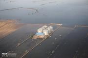 تصاویر هوایی از مناطق غرق سیل خوزستان و لرستان