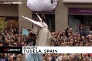 فیلم | نمایش خاص عید پاک در اسپانیا