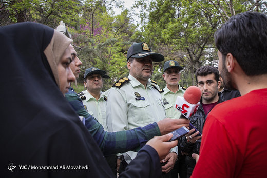 آغاز طرح امنیت و انضباط اجتماعی پلیس پایتخت