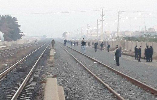 برخورد قطار و پراید حادثه آفرید