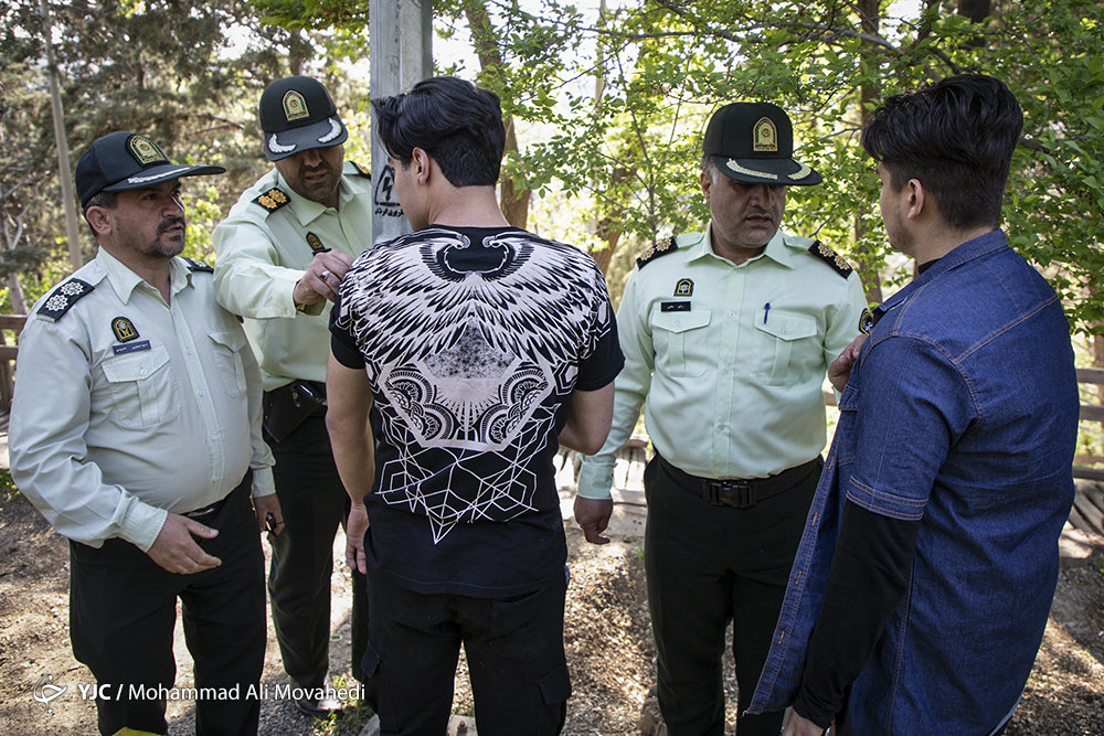 تصاویر   آغاز طرح امنیت و انضباط اجتماعی پلیس پایتخت