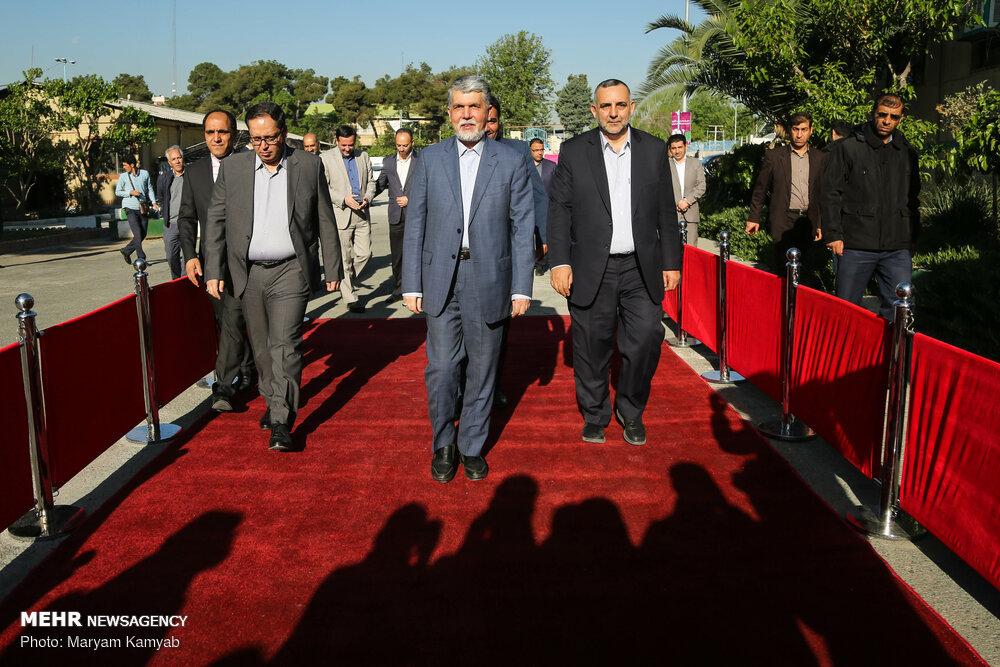 تصاویر   افتتاح سی و دومین نمایشگاه کتاب تهران