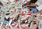 کشف یک میلیون و ۷۰۰ هزار نخ سیگار قاچاق در همدان