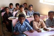 تصاویر | مشقتهای درس خواندن برای کودکان چابهاری