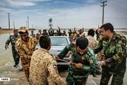 تصاویر | امدادرسانی ارتش و سپاه به سیلزدگان هیرمند