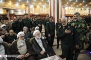 تصاویر | حضور سردار سلیمانی در تودیع و معارفه فرمانده کل سپاه