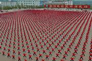 فیلم | نمایش هزاران رزمیکار در معبد شائولین