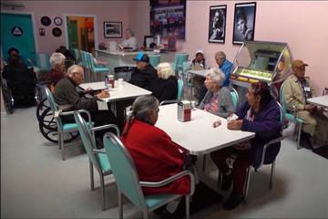 فیلم | خانهای مخصوص بیماران آلزایمری