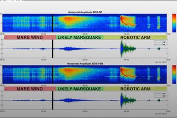 فیلم | بشر، زلزله در مریخ را هم به ثبت رساند