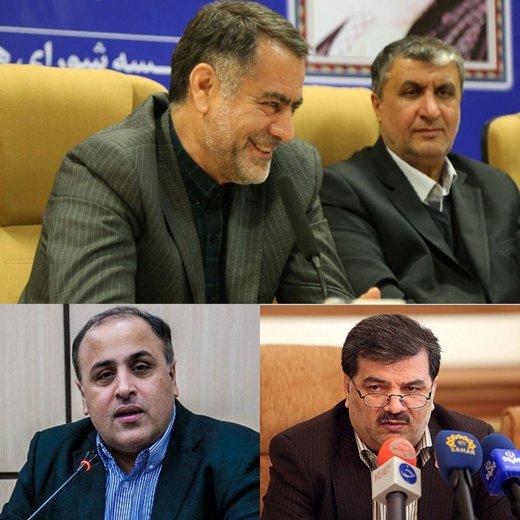 دیدار استاندار چهارمحال وبختیاری با وزیر راه وشهرسازی