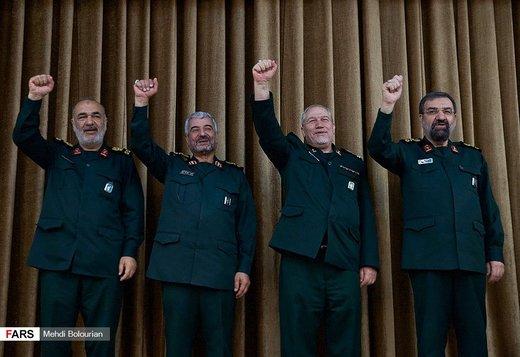 مراسم تودیع و معارفه فرمانده کل سپاه پاسداران انقلاب اسلامی