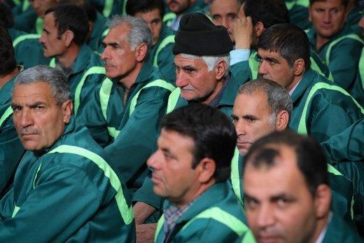 دیدار جمعی از کارگران سراسر کشور با رهبر معظم انقلاب اسلامی