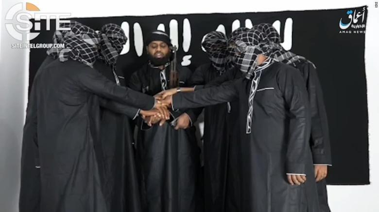 پرچمهای سیاه داعش بار دیگر برافراشته شد