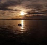 تصاویر | بازگشت غروبهای دلانگیز دریاچه ارومیه