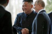 فیلم | لحظه تاریخی ملاقات اون و پوتین در روسیه