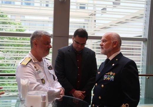 در دیدار فرماندهان نیروهای دریایی ایران و ایتالیا چه گذشت؟