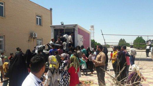 واگذاری سیم کارت رایگان رایتل در مناطق سیل زده خوزستان