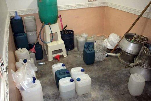 دادستان: کارگاه تولید مشروبات الکلی در عجب شیر کشف و پلمب شد