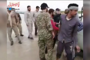 فیلم | کمکرسانی سردار قاسم سلیمانی به ماشین گرفتار در سیل